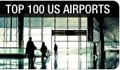 Top-100 US Airports by Departing Passengers and Cargo