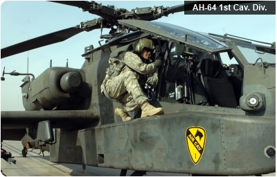 AH-64 1st Cavalry Division