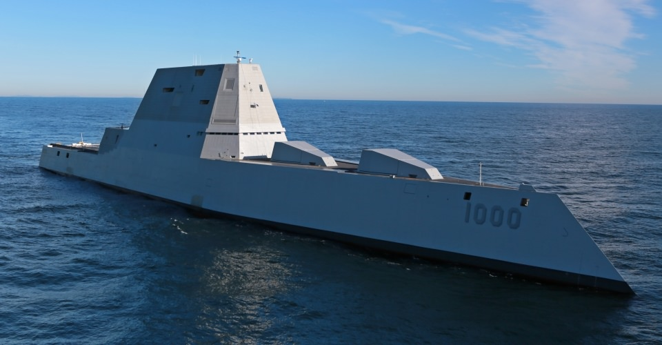 The DDG-1000 Zumwalt Class Destroyer