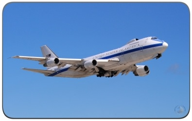 The Boeing E-4B Advanced Airborne Command Post