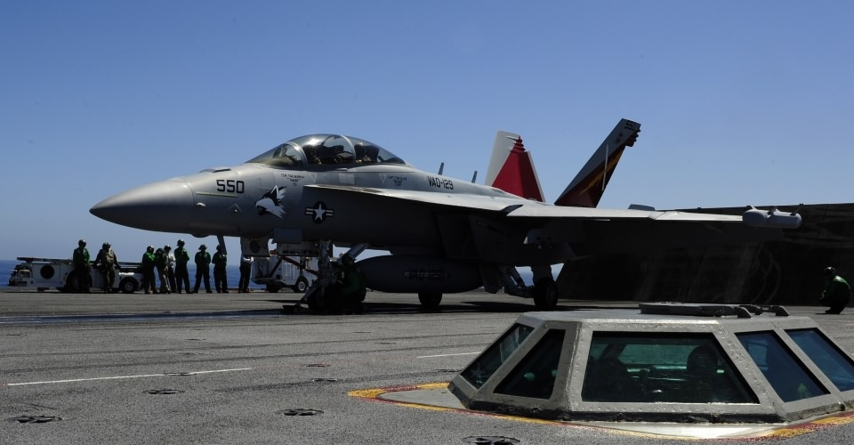 The Boeing EA-18G Growler