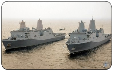The LPD-17 San Antonio Class Amphibious Transport Dock Ship