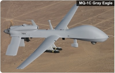 U.S. Army MQ-1C Gray Eagle