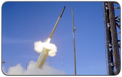THAAD Missile Launch